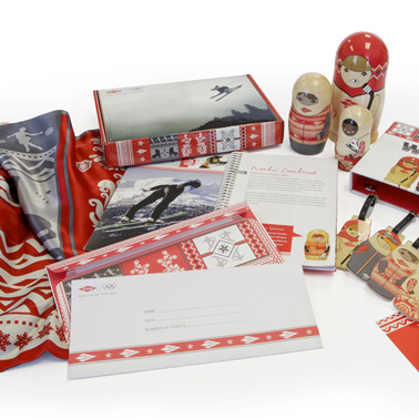 Dow Chemical Sochi Olympics branded gift pack